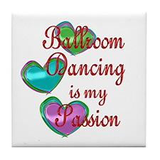 Ballroom Passion Tile Coaster