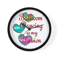 Ballroom Passion Wall Clock