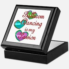 Ballroom Passion Keepsake Box