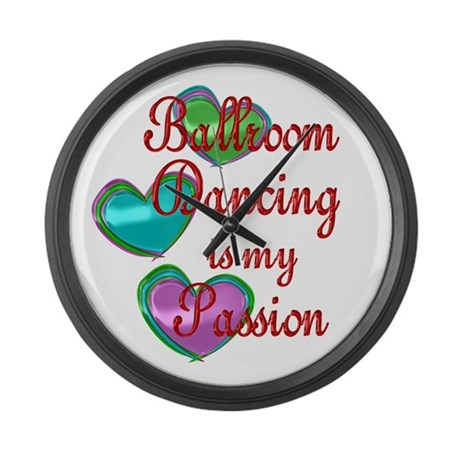 Ballroom Passion Large Wall Clock