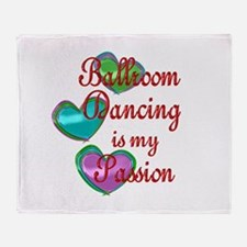 Ballroom Passion Throw Blanket
