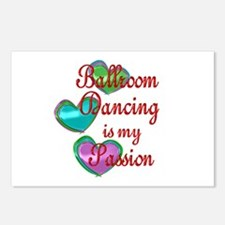 Ballroom Passion Postcards (Package of 8)