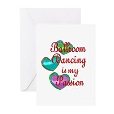 Ballroom Passion Greeting Cards (Pk of 20)