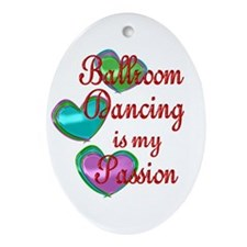 Ballroom Passion Ornament (Oval)