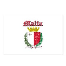 Malta Coat of arms Postcards (Package of 8)