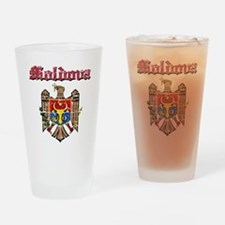 Moldova Coat of arms Drinking Glass