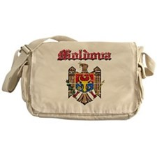 Moldova Coat of arms Messenger Bag