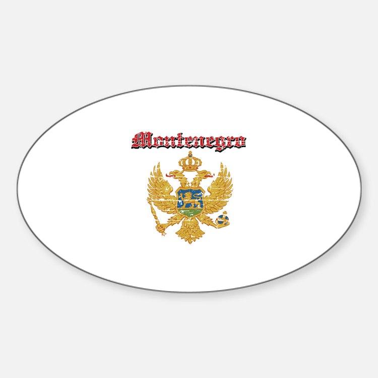 Montenegro Coat of arms Decal