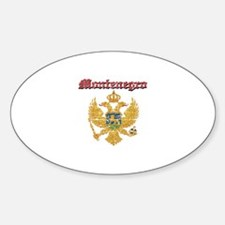 Montenegro Coat of arms Sticker (Oval)