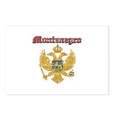 Montenegro Coat of arms Postcards (Package of 8)