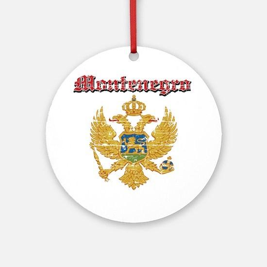 Montenegro Coat of arms Ornament (Round)