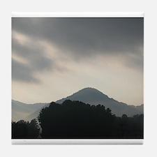 Smokey Mountain Tile Coaster