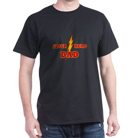 Super Hero Dad Dark T-Shirt