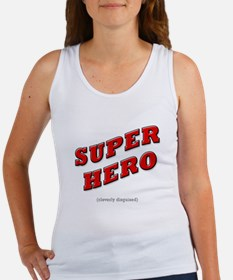 Super Hero - Cleverly Disguised Women's Tank Top
