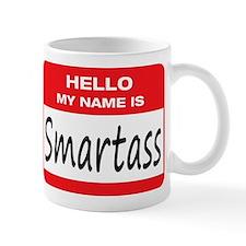 Smartass Name Tag Mug