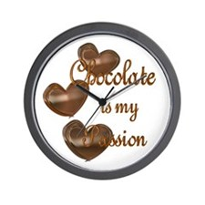 Chocolate Passion Wall Clock