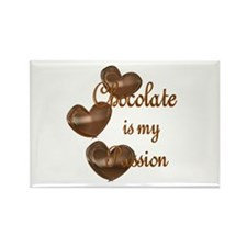 Chocolate Passion Rectangle Magnet (10 pack)