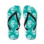Classical Beethoven Music Flip Flops