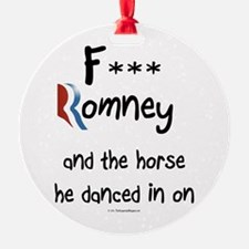 F Romney Ornament