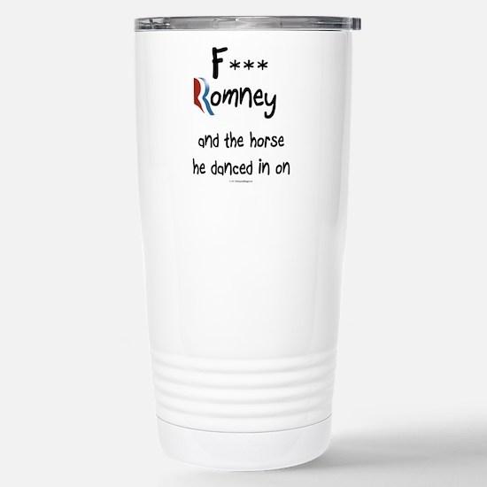 F Romney Stainless Steel Travel Mug