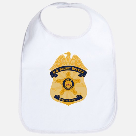 XXX Secret Service Badge Bib
