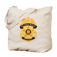 XXX Secret Service Badge Tote Bag