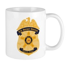 XXX Secret Service Badge Small Mug