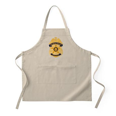 XXX Secret Service Badge Apron