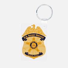 XXX Secret Service Badge Keychains