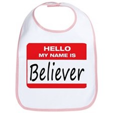 Believer Name Tag Bib