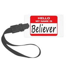 Believer Name Tag Luggage Tag