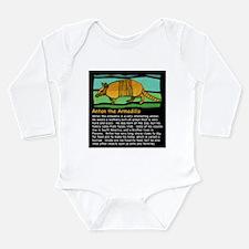 Anton the Armadillo Long Sleeve Infant Bodysuit