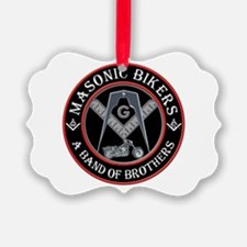 Masonic Bikers Ornament