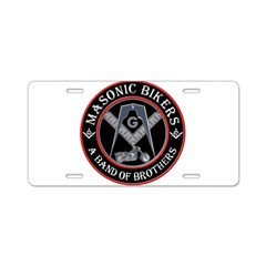 Masonic Bikers Aluminum License Plate