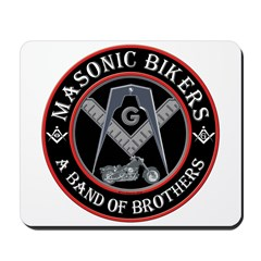 Masonic Bikers Mousepad