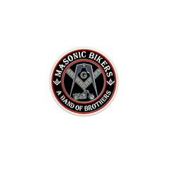 Masonic Bikers Mini Button (100 pack)
