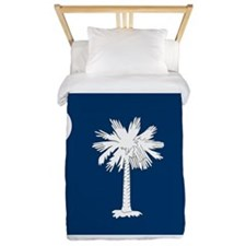 SC State Flag Twin Duvet