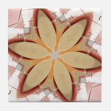 Daisy Doodles Tile Coaster