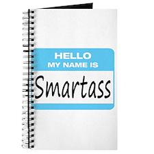 Smartass Name Tag Journal