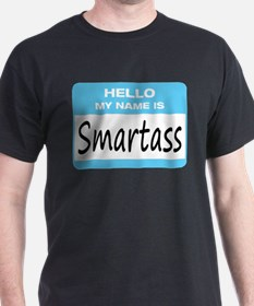 Smartass Name Tag T-Shirt