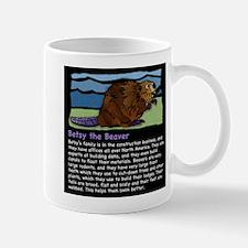Betsy the Beaver Mug