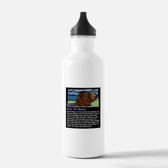 Betsy the Beaver Water Bottle