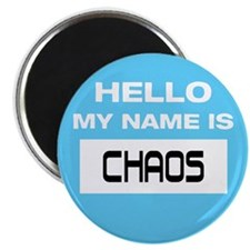 "Chaos Name Tag 2.25"" Magnet (10 pack)"