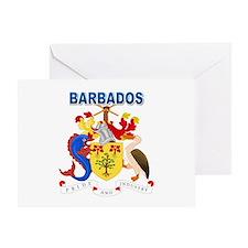 Barbadian Coat of Arms Greeting Card