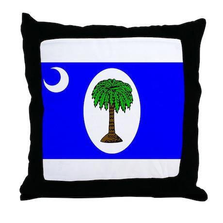 800px-South_Carolina_Jan_1861.svg.png Throw Pillow