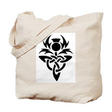 Tribal Thistle Tote Bag
