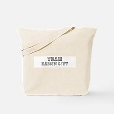 Team Raisin City Tote Bag