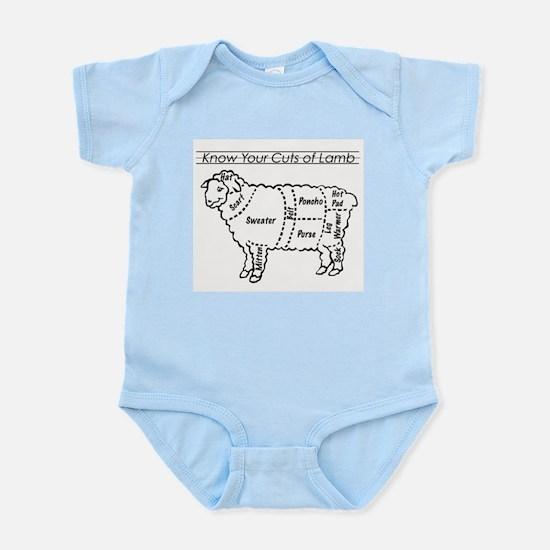 Know Your Cuts of Lamb Infant Bodysuit