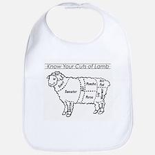 Know Your Cuts of Lamb Bib
