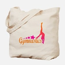 Gymnastics Star Tote Bag